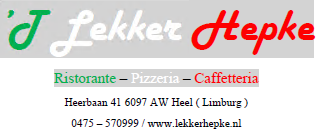 Heerbaan 41 6097AW Heel tel: 0475 570 999